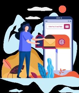 Comunícate con tus clientes de forma directa y personal mediante email marketing para aumentar tus beneficios con los servicios de marketing digital de emeraki